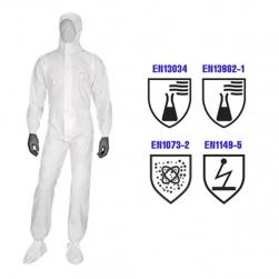 Tên SP:  Quần áo chống hóa chất DT117