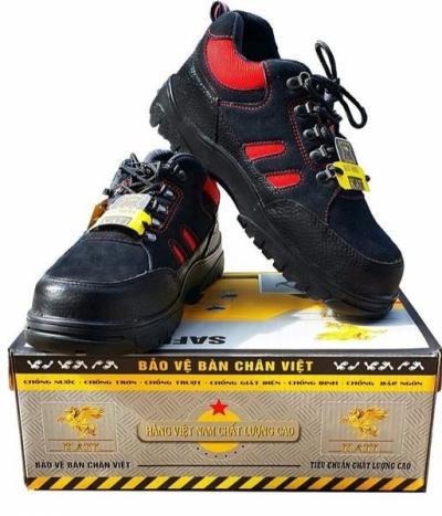 Giày KATI KT030 Đỏ Đen
